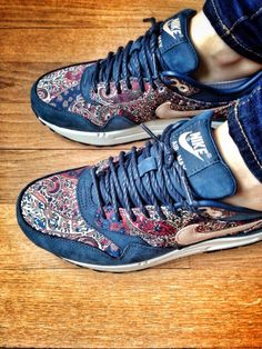 My new Nike Air Max 1... Liberty Bourton... Limited Edition