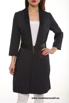Trench Coat Helga Schwarz