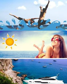 Swimming - Sunbathing - Sightseeing... Book your Special holidays!  Web Site: www.amalfisails.com E-Mail: info@amalfisails.it