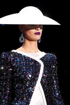 Armani Privé Spring 2011 Couture Fashion Show Details