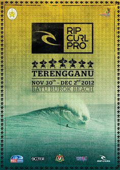 Small n' Hot: Terengganu Rip Curl Pro Surf Contest 2012