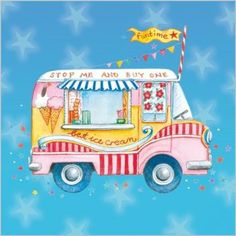 Welcome to the Clare Maddicott website, here you'll find all you need to know about Clare Maddicott Publications as well as enjoying access to our on-line shop. Ice Cream Cart, Best Ice Cream, Drawing School, Vintage Ice Cream, Decoupage, Car Illustration, Rock Crafts, Fun Crafts, Happy Birthday Images