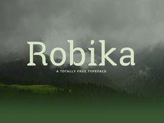 Robika Free Typeface