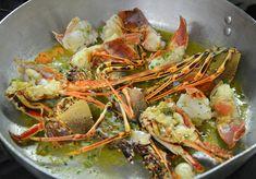 sugo all'aragosta #ricettedisardegna #recipe #sardinia #lobster Sardinia, Polenta, Fish And Seafood, Japchae, Fish Recipes, Paella, Risotto, Shrimp, Cooking Recipes