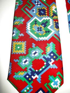 b24572541786 Details about Turnbull Asser Red Tie Silk Handmade London England Mens  Necktie 57 X 3.75