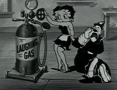 Koko the clown eats too much candy and gets a toothache, so Betty Boop the dentist gives him some gas and tries to pull his tooth