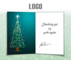 ekortet.dk leverer danmarks flotteste elektroniske julekort til virksomheder. På billedet: Julekort med logo. Juletræ, Ekort, e-kort, e-julekort, ejulekort, elektroniske julekort, ecard, e-card, firmajulekort, firma julekort, erhvervsjulekort, julekort til erhverv, julekort med logo, velgørenhedsjulekort, julekort
