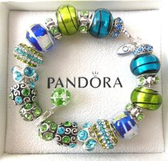 New Authentic Pandora Silver European Beads Charm Bracelet B1 | eBay