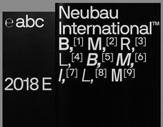 "NB International™ Pro Type Specimen (2014) 2018 Edition"""