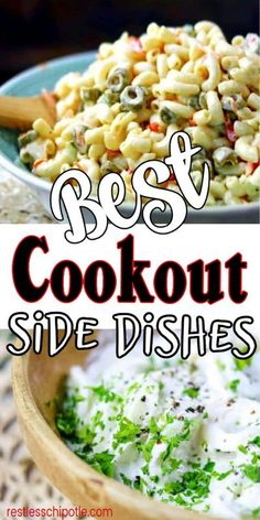 Burger Side Dishes, Cookout Side Dishes, Camping Side Dishes, Camping Meals, Side Recipes, Dishes Recipes, Recipies, Cold Meals, Vegetable Dishes
