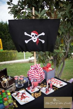PIRATES & PRINCESSES Birthday Party Ideas | Photo 1 of 23 | Catch My Party