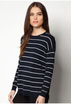 Mango Striped Sweater #onlineshop #onlineshopping #lazadaphilippines #lazada #zaloraphilippines #zalora