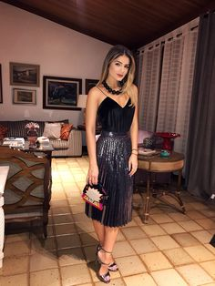 Date night outfit Casual Skirt Outfits, Date Outfits, Dress Outfits, Dress Up, Fashion Outfits, Night Out Outfit, Night Outfits, Moda Chic, Trends