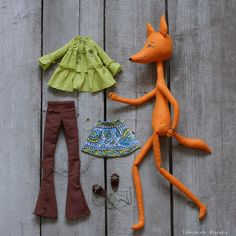 Best 12 Hi, This is Majsan. She is hand made with lots of love and in super soft blue/gray – SkillOfKing. Doll Sewing Patterns, Sewing Toys, Sewing Crafts, Felt Dolls, Doll Toys, Fabric Animals, Plush Pattern, Fox Pattern, Fabric Toys