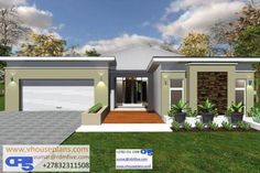 Overall Dimensions- x mBathrooms- 3 Car GarageArea- Square meters House Roof Design, Facade House, Modern House Design, Modern House Facades, Modern House Plans, Free House Plans, House Floor Plans, Beautiful House Plans, Beautiful Homes