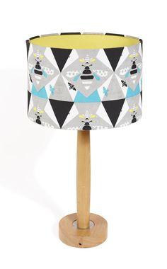 JANE FROST LAMPSHADE - QUEEN BEE  http://www.thequintessential.co.uk/jane-frost-lampshade-queen-bee/