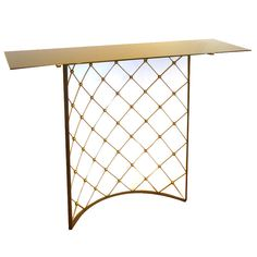 """JEAN ROYERE rare console """"TOUR EIFFEL"""" 