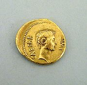 Gold aureus of Octavian
