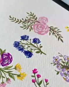 An amazing piece of art! By: boelterdesignco An amazing piece of art! By: boelterdesignco Acrylic Painting Flowers, Acrylic Art, Fabric Painting, Water Paint Flowers, Simple Flower Painting, Lavendar Painting, Simple Watercolor Flowers, Painted Flowers, Acrylic Paintings