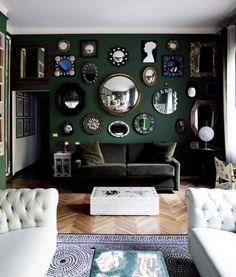 Cozy Drama Isn't an Oxymoron: A Dozen Beautiful Dark Living Rooms