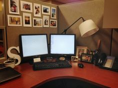 Cubicle Makeover #diy