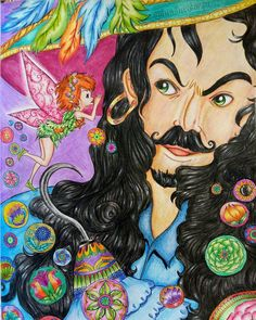 "Gefällt 184 Mal, 10 Kommentare - Tatiana Sokolovskaya (@tanitacolorsv) auf Instagram: ""#peterpen #fabianaattanasio #lovecoloring #coloring #colorpencil #adultcoloringbook #arttherapy…"""