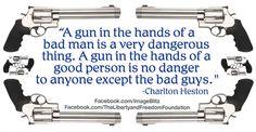 on gun control