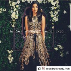 We are so excited to be a part of this huge event!  #Repost @redcarpetready_van with @repostapp ・・・ It's back, the biggest South Asian wedding exhibition - bigger and better than ever before!  Come by and meet with the top tier of the wedding industry all under one roof! Plan for your big day and come celebrate exquisite Indian fashion with us. @wellgroomedinc @armaandbg @redcarpetready_van @crossoverbollywoodse will be unveiling their 2017 collections, a must stop for all fashionistas…