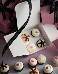 Georgetown Cupcake Mini Cupcakes - Salted Caramel, Red Velvet, Peanut Butter Fudge, Vanilla & Buttercream, & Chocolate Coconut (Photo Credit: Dayna Smith)