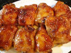 Comida fáceis de chefes famosos: Sobrecoxas de frango agridoce da Rita Lobo