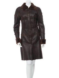 Vince Camuto Mixed-Media Faux-Shearling Coat - Black XL   Faux ...