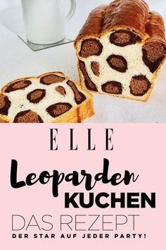 Leopardenkuchen: das Rezept für den Kuchen mit dem wilden Twist Leopard cake: the recipe for the cake with the wild twist Anyone who likes to achieve great results in the kitchen with little effort is Baking Recipes, Snack Recipes, Dessert Recipes, Snacks, Cupcake Recipes, Cupcakes, Leopard Cake, Cake Simple, Marble Cake