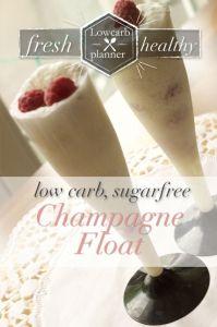 Champagne Float | SUgarFree, LowCarb, glutenfree