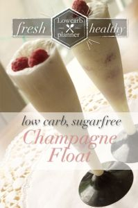 Champagne Float | SUgarFree, LowCarb, glutenfree