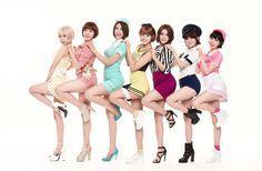 Name: AOA Debut: 2012 Members: Choa, Jimin, Yuna, Hyejung, Minah, Seolhyun, Chanmi, Youkyoung