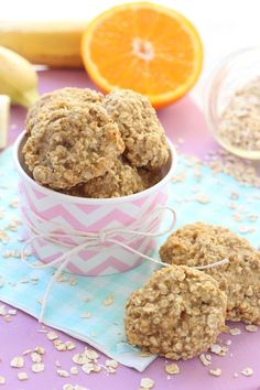Make these delicious and healthy snacks for kids with just three simple ingredients. Great for toddlers and weaning babies with a few teeth! | My Fussy Eater blog