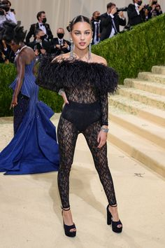 """Fashion's biggest night is here, and this year the theme is """"In America: A Lexicon of Fashion,"""" a true celebration of American fashion. Hit the link to see every single #celebrity #redcarpet arrival for the 2021 #MetGala. Jennifer Hudson, Jennifer Lopez, Anna Wintour, Irina Shayk, Thom Browne, Rihanna, Tessa Thompson, Donatella Versace, Teyana Taylor"""