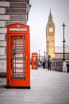Find a red British telephone booth...and pretend I'm going to the Ministry of Magic.