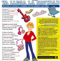 Spanish Christmas Song Sing-along