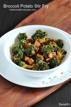 Broccoli potato stir