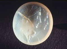 Agate seal carved in intaglio. Greco-Roman (n.d.) | Seattle Art Museum