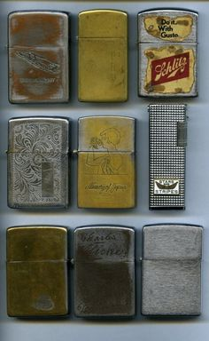 I don't promote smoking but I love a nice vintage Zippo. Edc, Art Of Manliness, Good Cigars, Pipes And Cigars, Its A Mans World, Zippo Lighter, Logo Nasa, Childhood Memories, Vintage Items