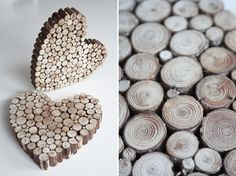 DIY Wooden Hearts!