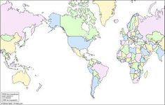 Free Printable Maps Of The World, Blank So Your Students Can Fill In The  Countries