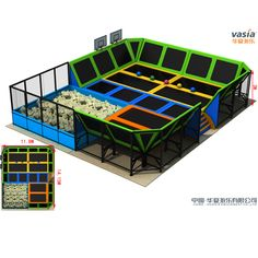indoor trampoline park                                                       …