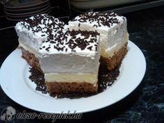 Fahéjas vaníliás szelet   Receptneked.hu (olcso-receptek.hu) Hungary Food, Hungarian Recipes, Tiramisu, Cheesecake, Favorite Recipes, Ethnic Recipes, Kitchen, Cooking, Cheesecakes