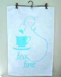 Amanda Alessi Tea Time Tea Towel