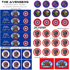 Party-Tales: ~ Birthday Party ~ The Avengers