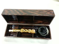 Pipe in Wenge box