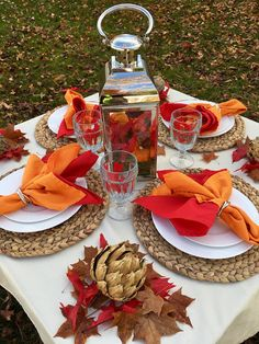 table.quenalbertini: Orange and Red for Brunch | Etched in Colloquy
